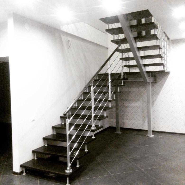 Хай-тек лестница - реальный пример