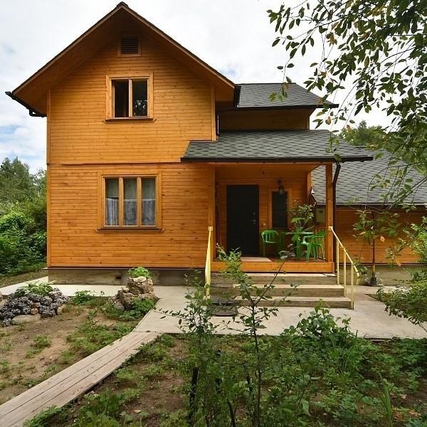 Как выглядит каркасный дом