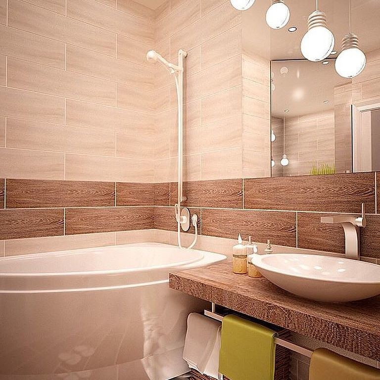 Идея для ремонта в ванной комнате